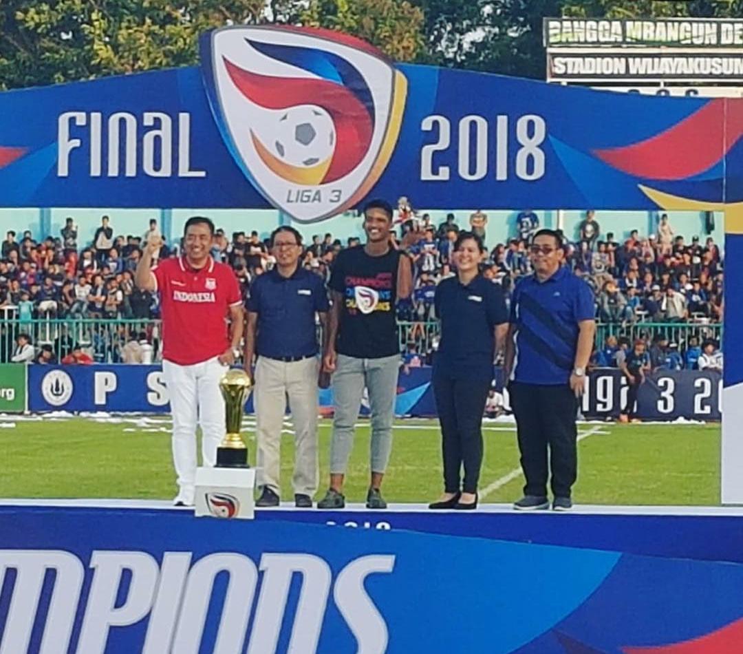 Wakil Ketua dan Sekjen PSSI Kawal Langsung Final Liga 3